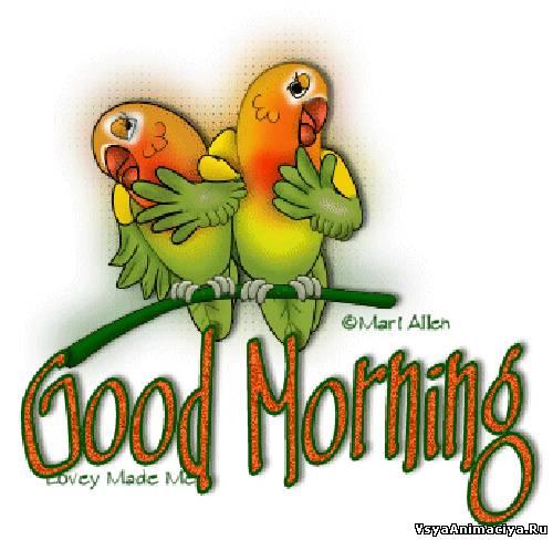 знакомство с good morning
