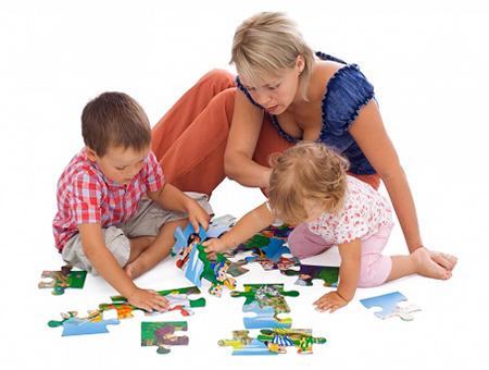 Игры вместе с детьми