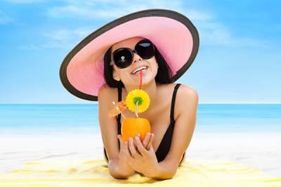 летнее фото девушки на аву